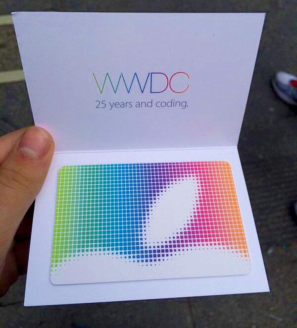 Apple presenteia gift card da App Store aos participantes da WWDC