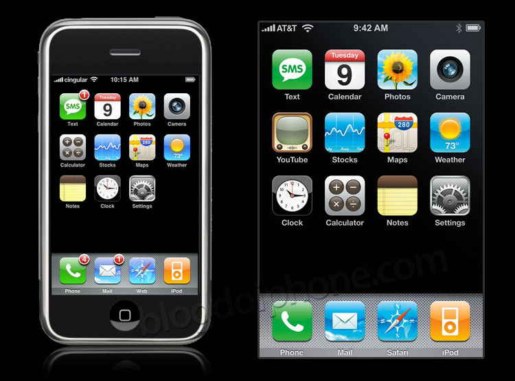 iPhoneOS 2007