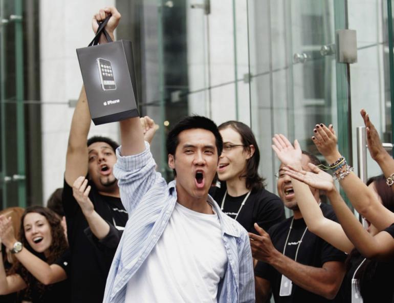 Primeiro comprador do iPhone