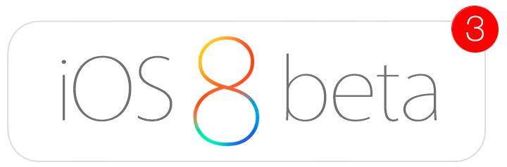 Beta 3 iOS 8