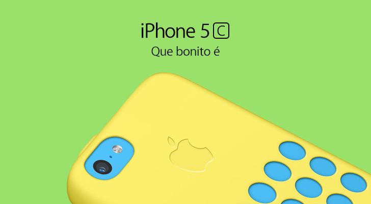 Photo of Apple brasileira muda slogan do iPhone 5c em homenagem à Copa do Mundo