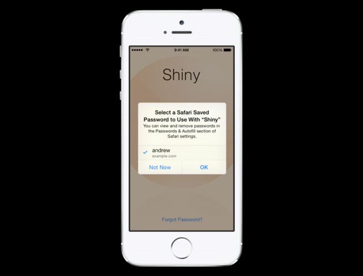 Preenchimento Automático em apps