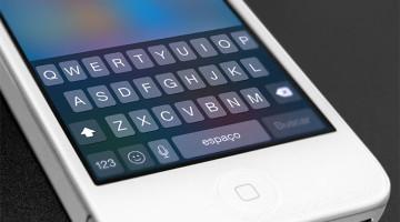 Teclado iOS 8