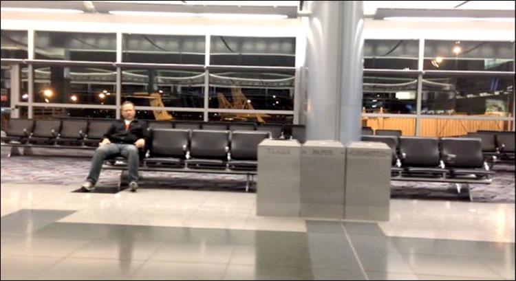 Vídeo aeroporto