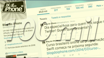 100 no Twitter