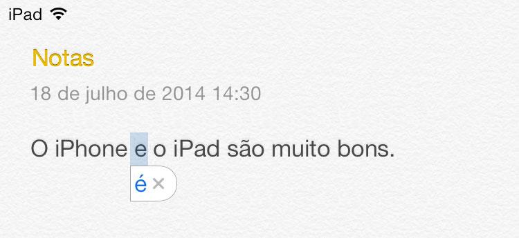 Autocorretor do iOS