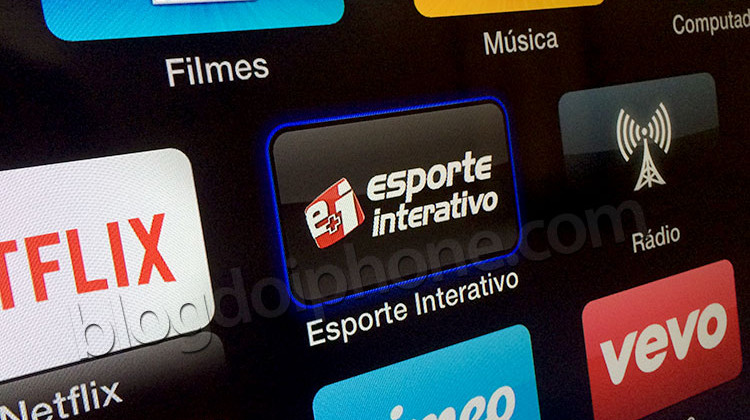Esporte Interativo na Apple TV