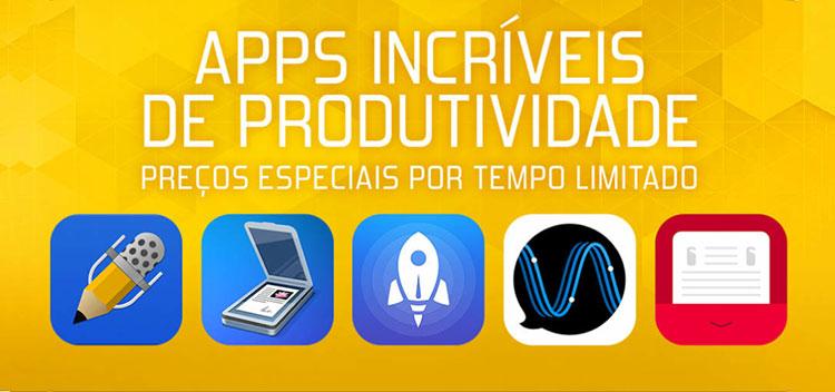 Apps de Produtividade em promoção