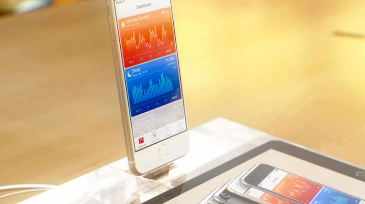 Conceito fictício de iPhone, feito por computador