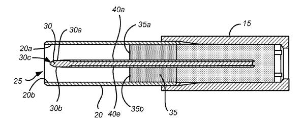 Patente USB reversível