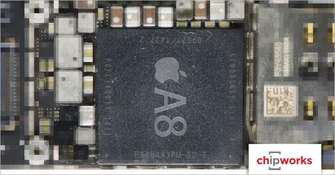 Photo of Chips A8 dos novos iPhones 6 e 6 Plus são fabricados pela TSMC