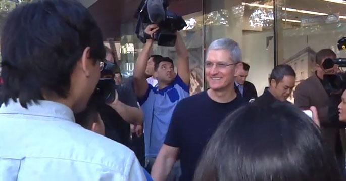 Photo of Executivos da Apple marcam presença no lançamento dos novos iPhones