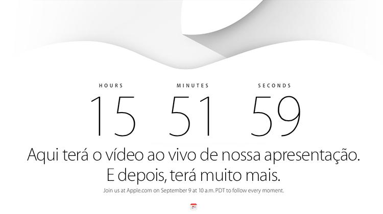 Site da Apple