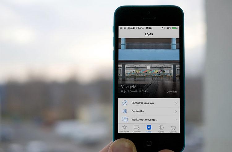 Photo of Aplicativo da Apple Store começa a funcionar também no Brasil