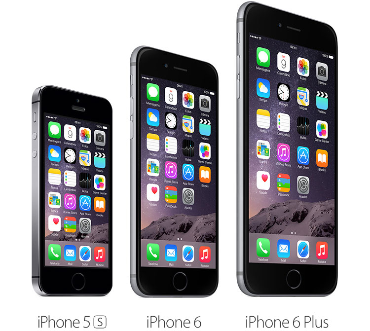 Photo of Tabela comparativa entre iPhones 5s, 6 e 6 Plus
