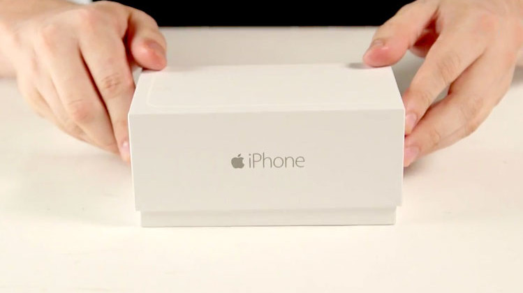Unboxing iPhone 6