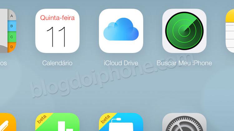 iCloud Drive beta