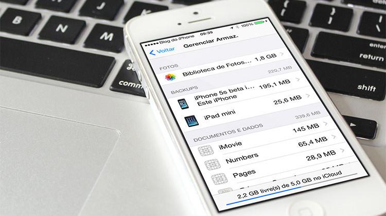 iCloud iPhone