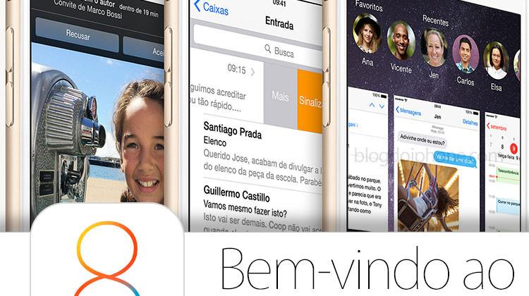 iOS 8 bienvenue