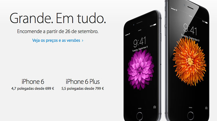 iPhone 6 Portugal