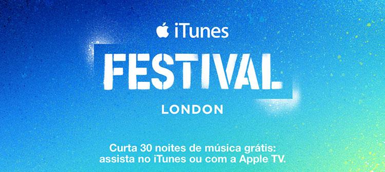 Photo of Começa hoje o iTunes Festival, com diversos shows ao vivo