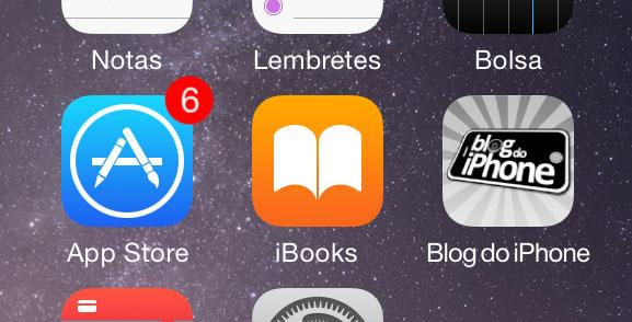 Novo ícone iBooks