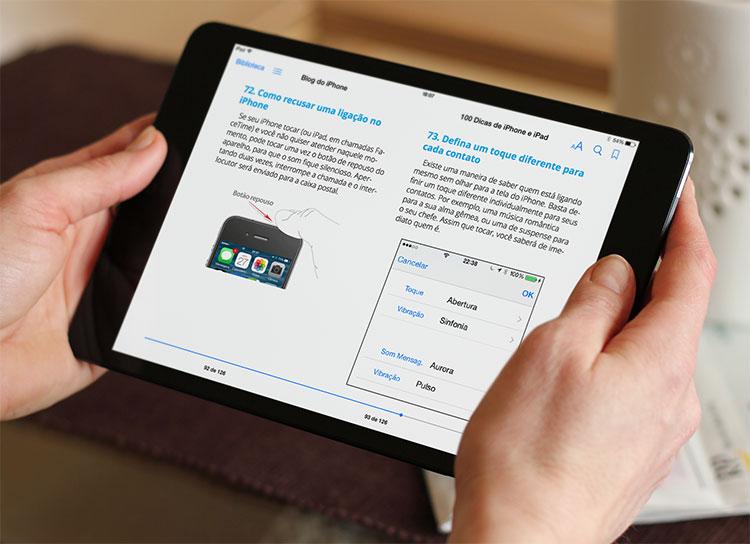 100 Dicas - Lendo no iPad