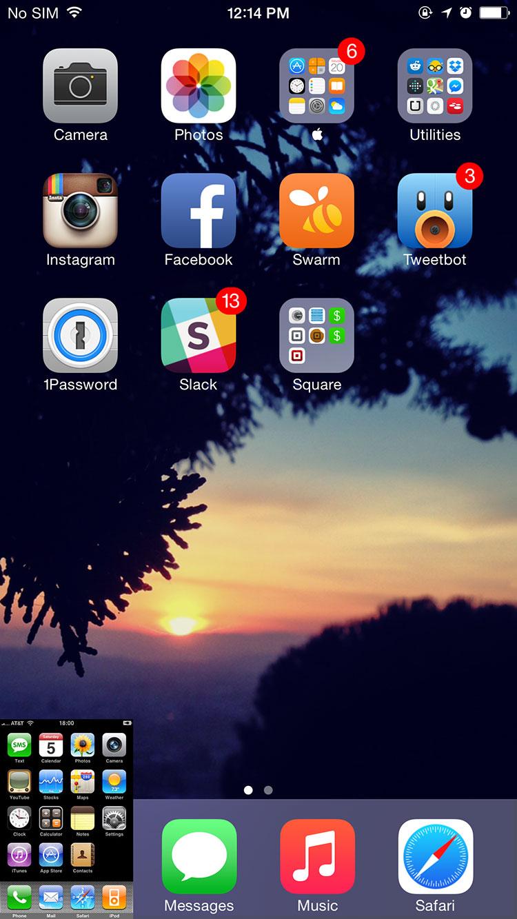 iPhone Classic x iPhone 6 Plus