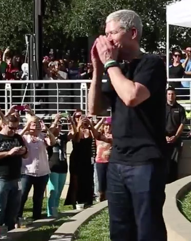 Tim Cook in the Ice