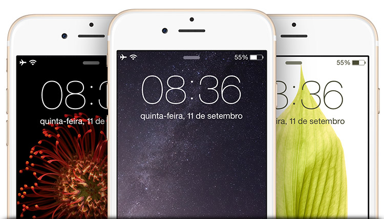 Wallpapers iOS 8