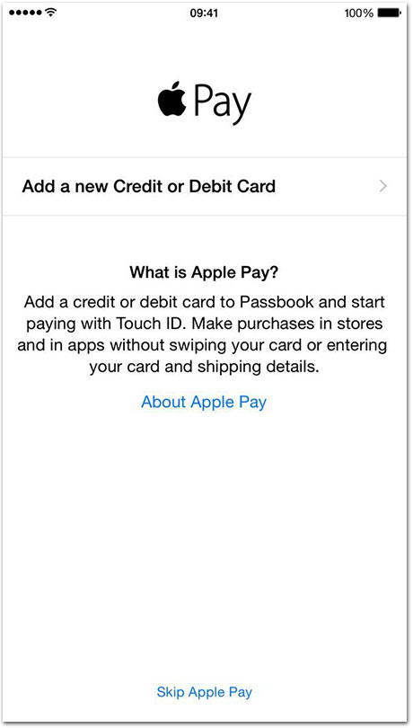 Apple Pay Passbook