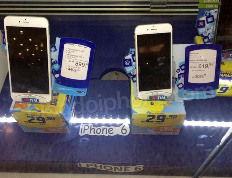 iPhone 6 ilegal na TIM