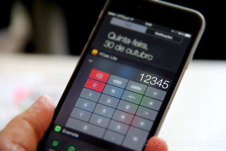 Photo of Apple não quer mais calculadoras na Central de Notificações do iOS
