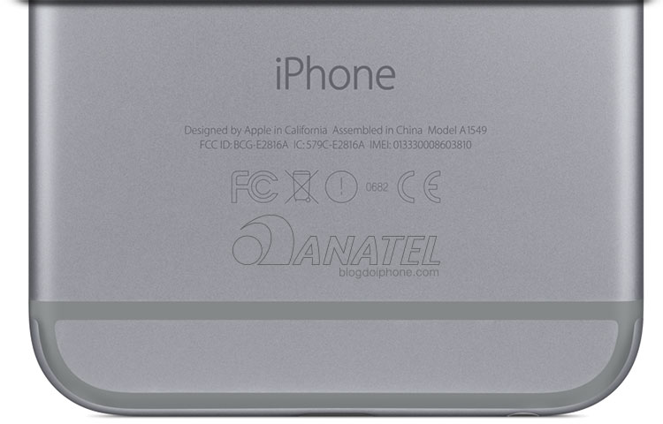 Anatel iPhone 6