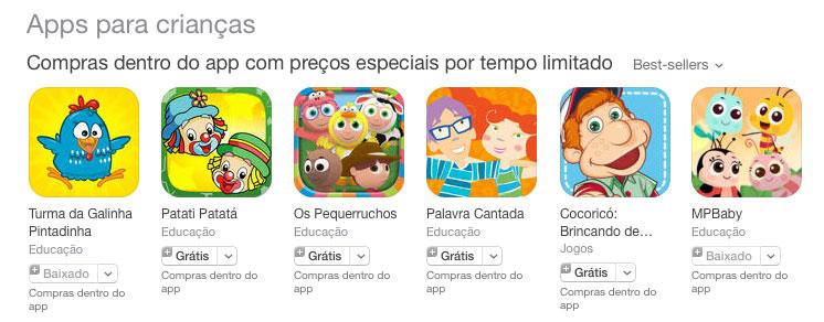 Apps para o Dia das Crianças