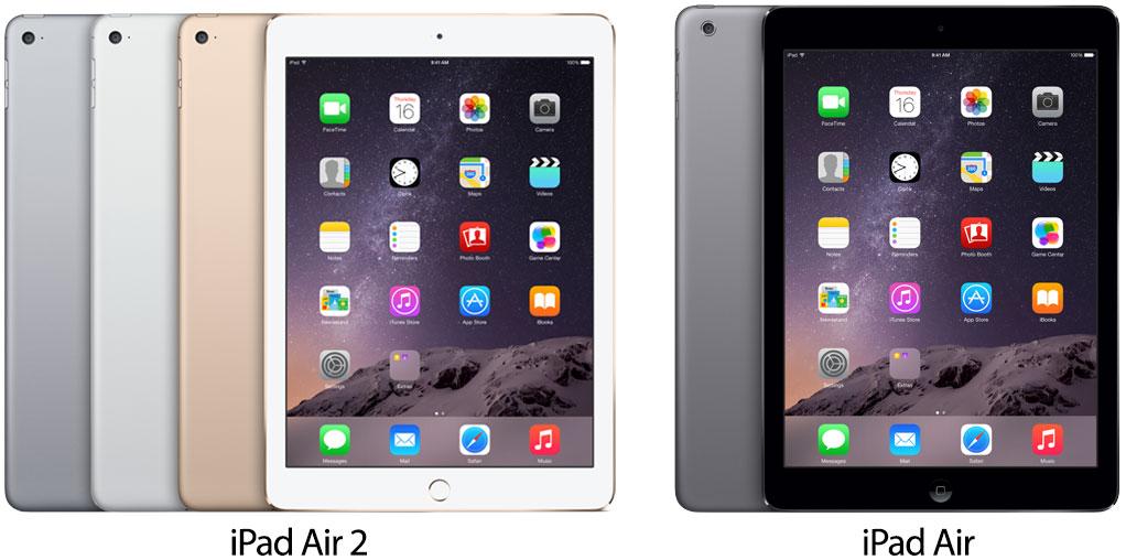 Photo of Tabela comparativa entre as duas gerações do iPad Air