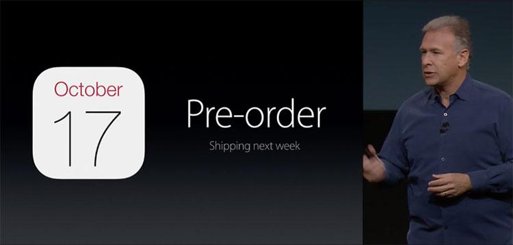 iPad Air 2 pré-venda