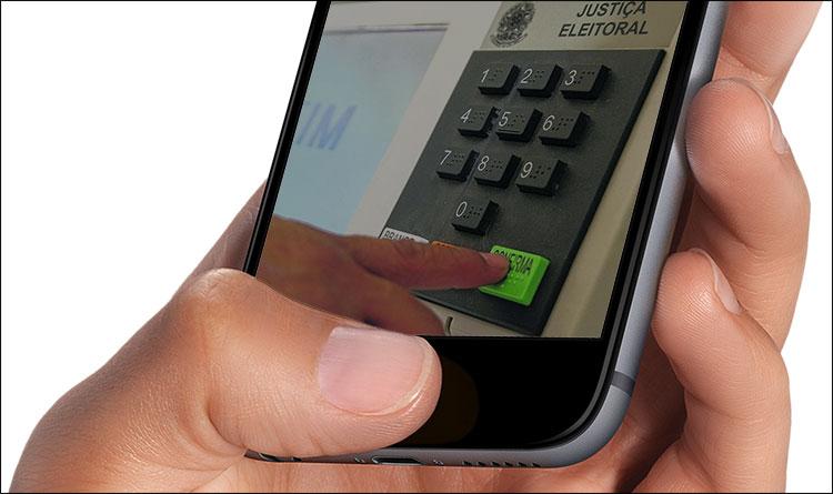 Voto Eleições iPhone
