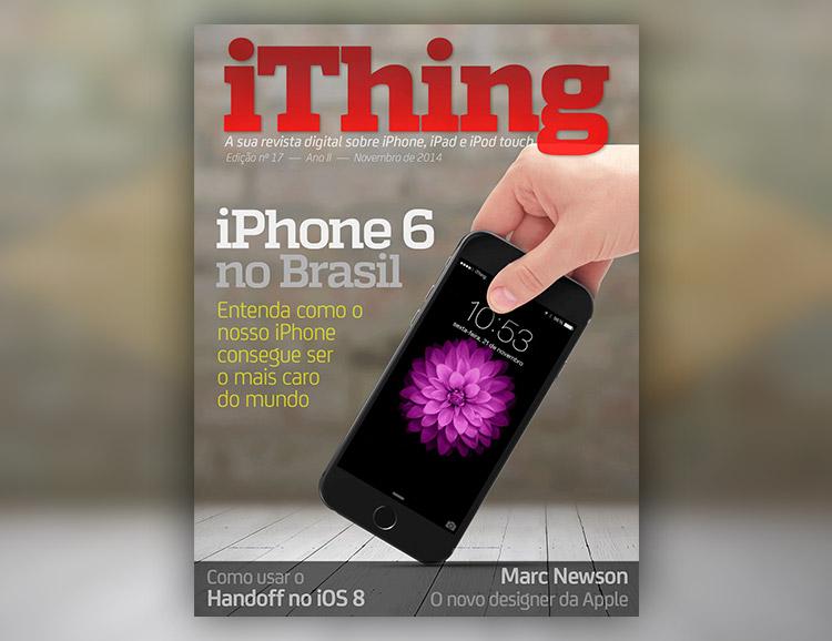 Photo of Revista iThing, edição 17: você já baixou a sua?