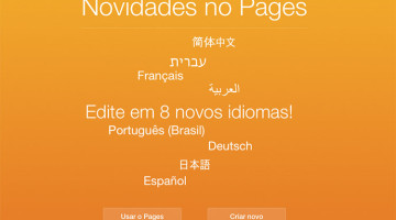 Pages no iCloud
