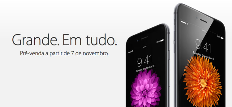 Pré-venda iPhone 6