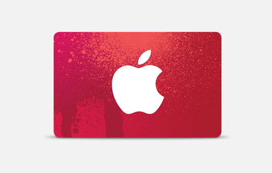 Gift card (RED)