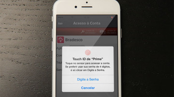 Bradesco Touch ID