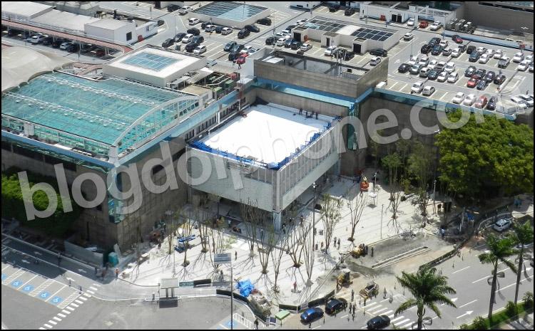 Photo of Confira as imagens aéreas das obras da futura Apple Store de São Paulo