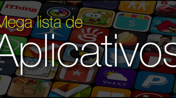 Mega lista aplicativos