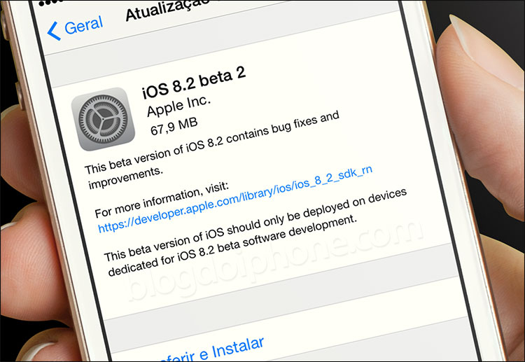 Photo of Apple libera segundo beta do iOS 8.2 somente para desenvolvedores