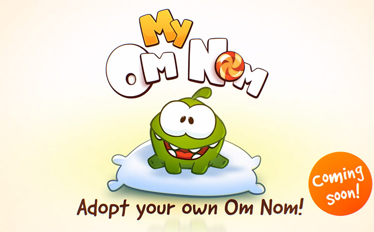 Photo of Monstrinho do Cut the Rope em breve irá virar animal virtual estilo Tamagotchi