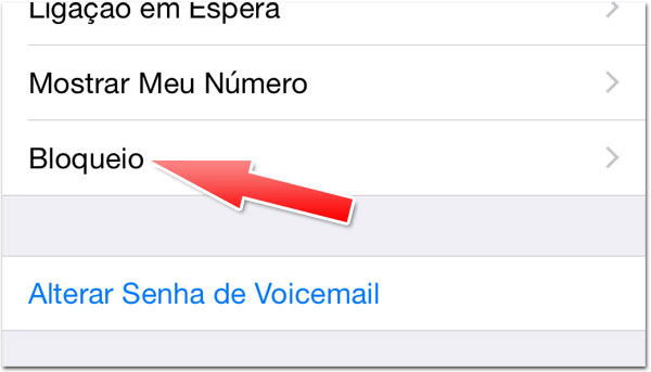 Bloqueio iOS