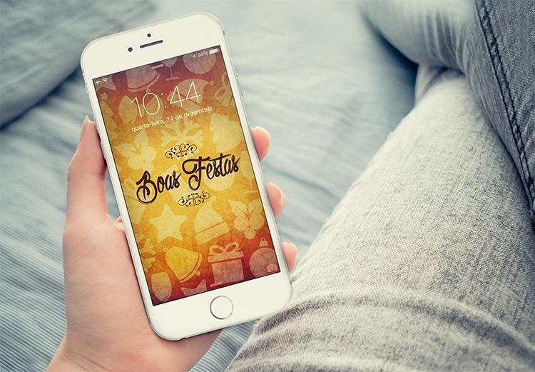 Baixe Aqui Os Wallpapers De Natal Para Seu IPhone E IPad