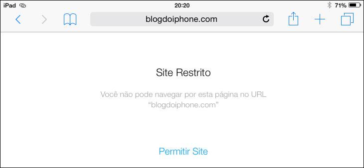 Autorizar site